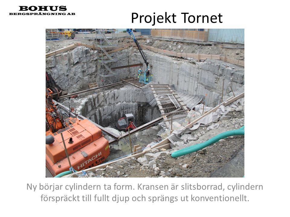 Projekt Tornet Ny börjar cylindern ta form.
