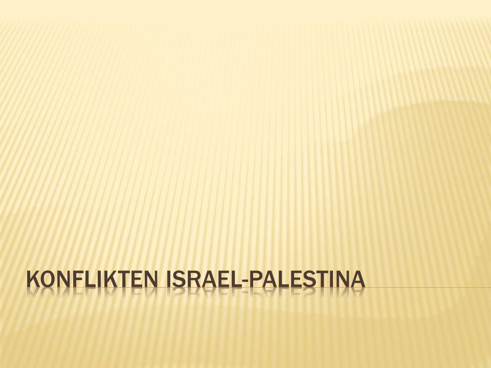 Konflikten Israel-palestina