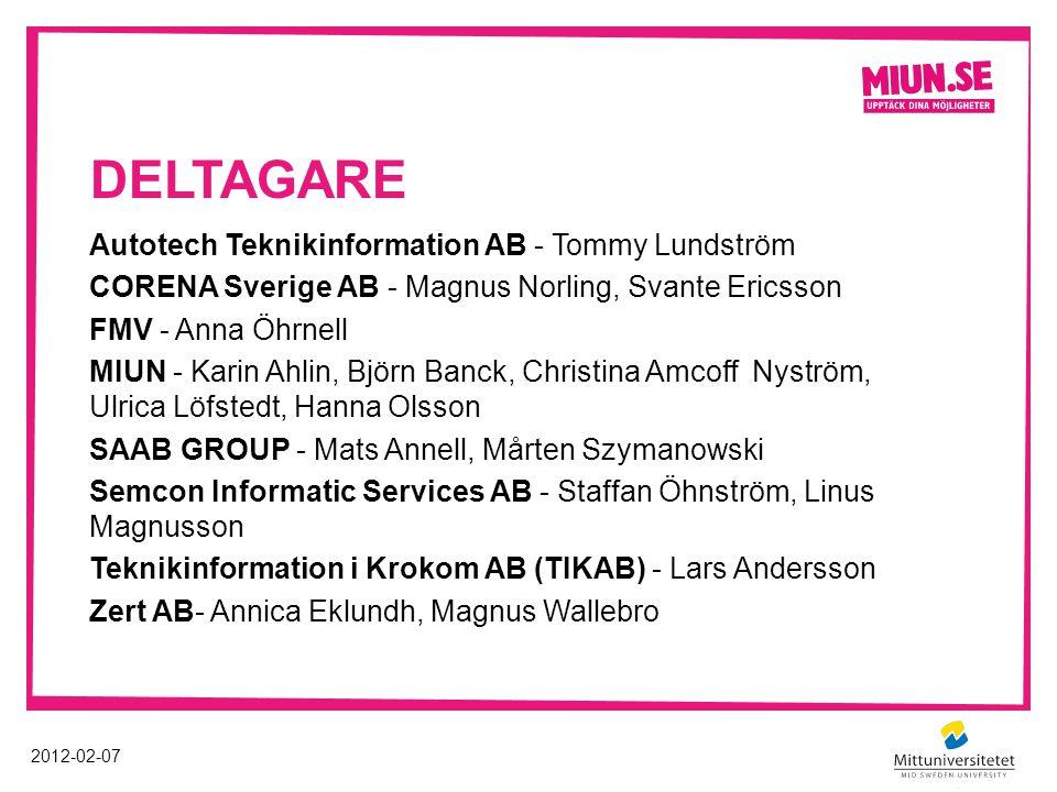 deltagare Autotech Teknikinformation AB - Tommy Lundström