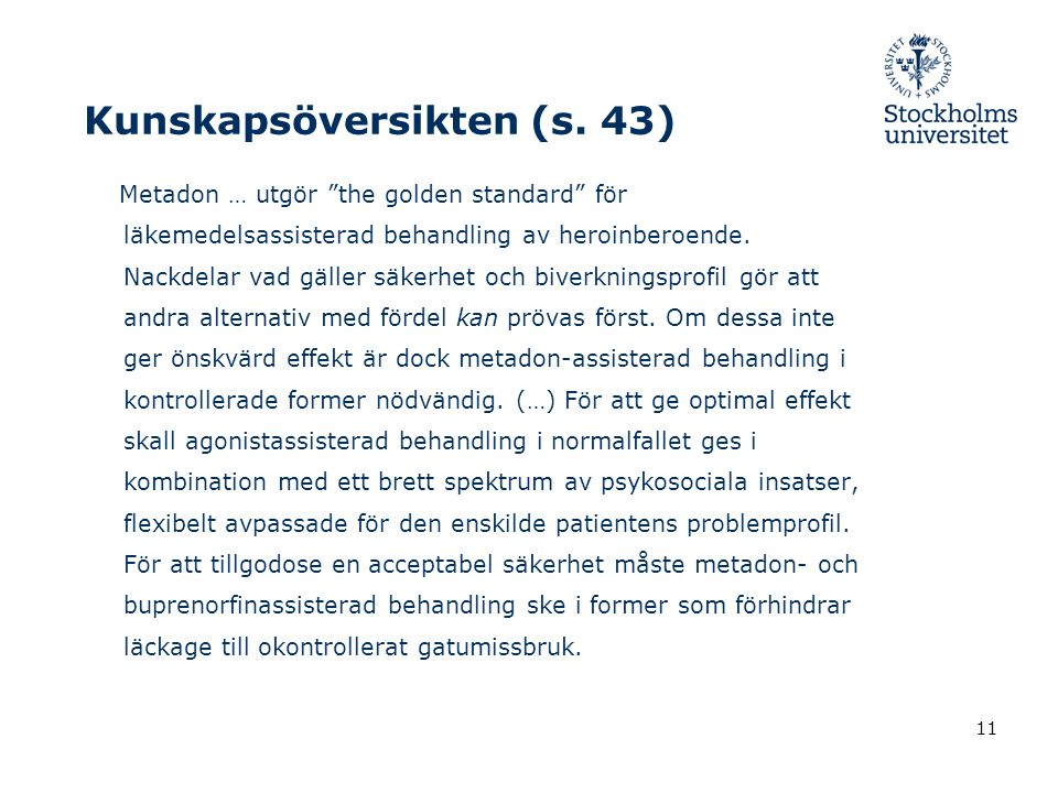 Kunskapsöversikten (s. 43)