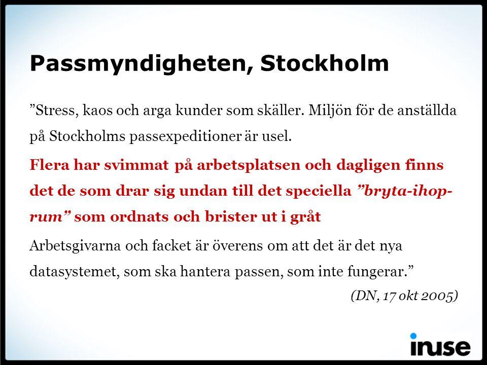 Passmyndigheten, Stockholm
