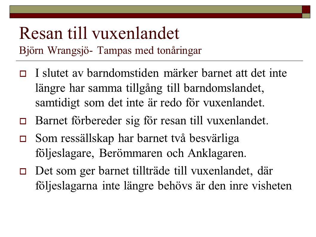 Resan till vuxenlandet Björn Wrangsjö- Tampas med tonåringar
