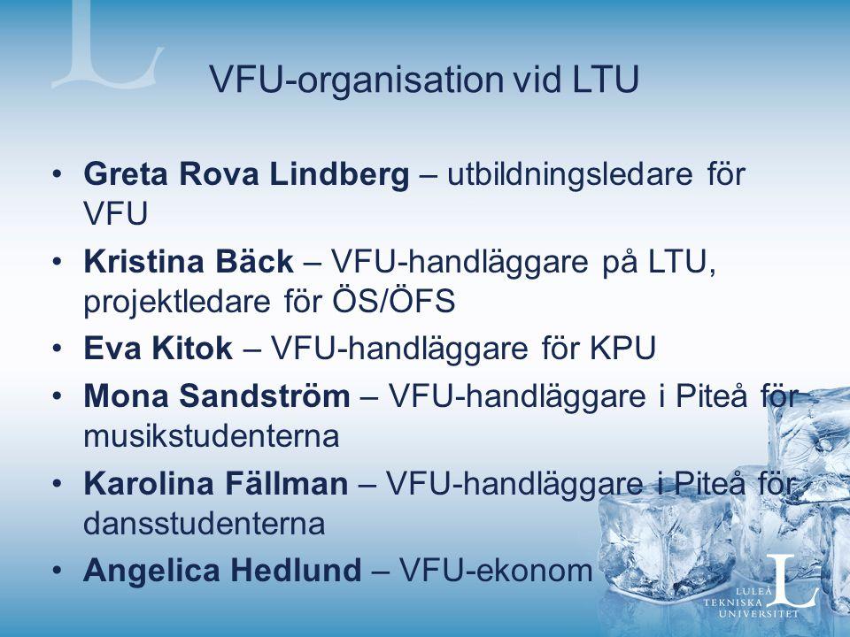 VFU-organisation vid LTU