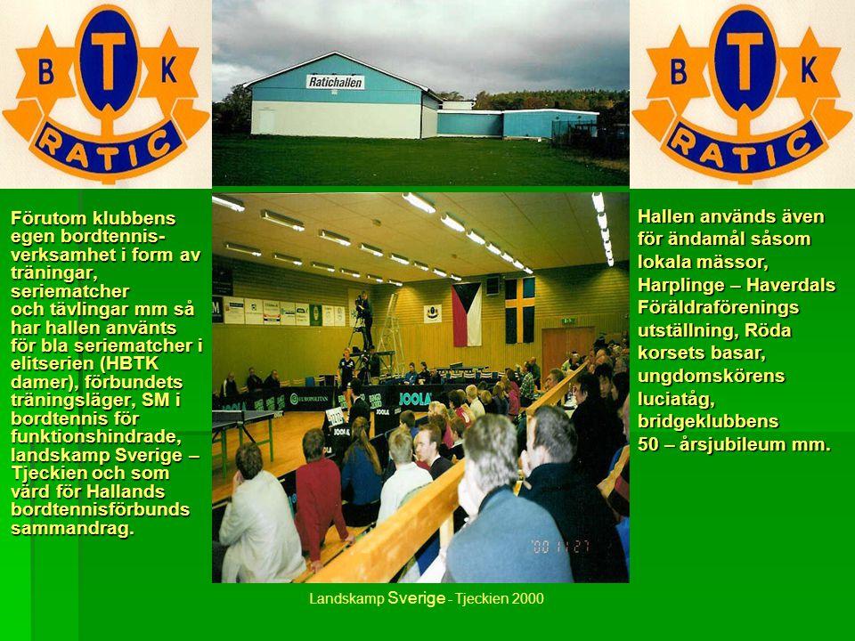 Landskamp Sverige - Tjeckien 2000