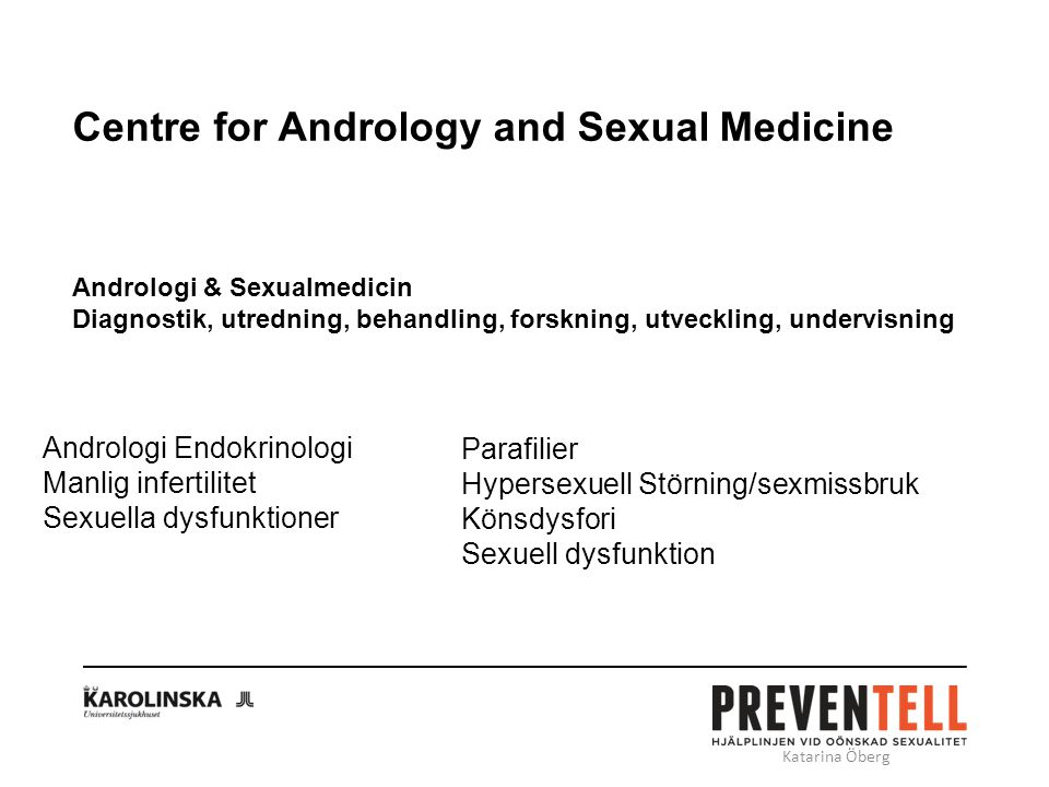 Centre for Andrology and Sexual Medicine