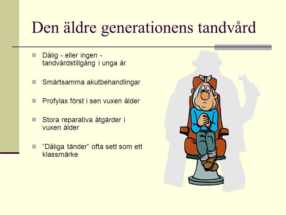 Den äldre generationens tandvård