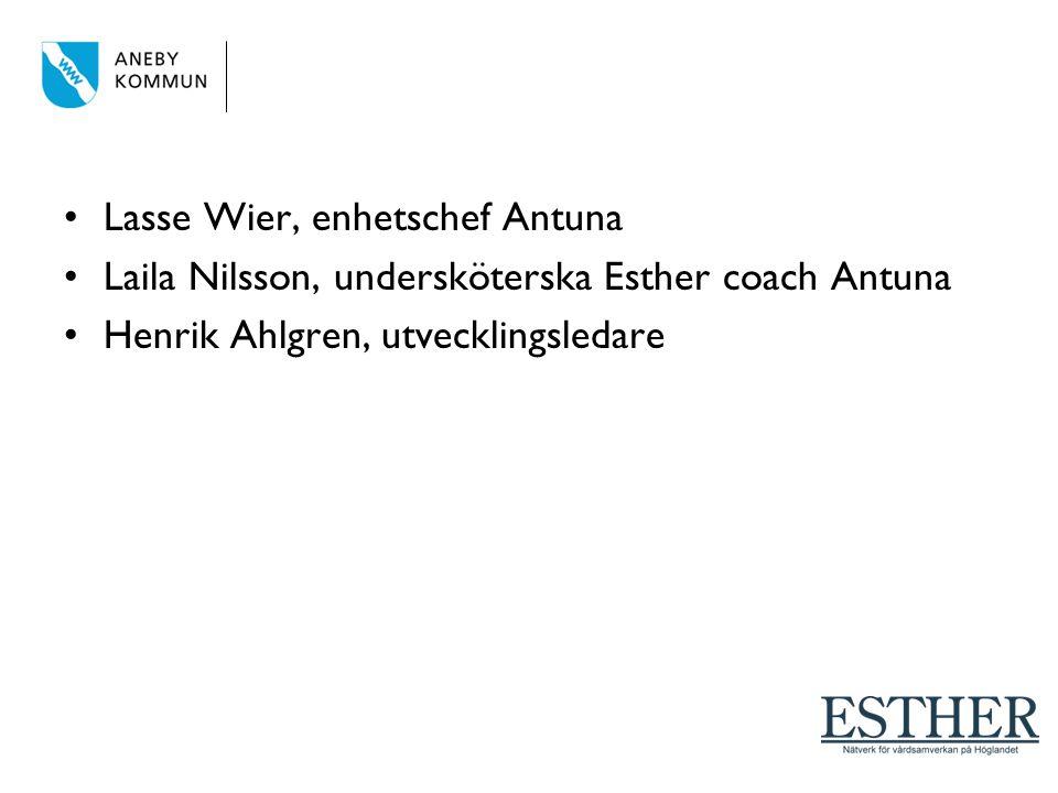 Lasse Wier, enhetschef Antuna