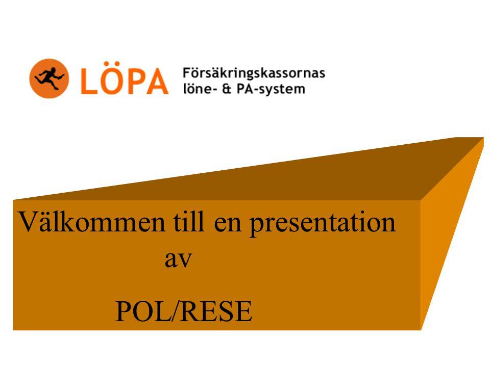 Välkommen till en presentation av