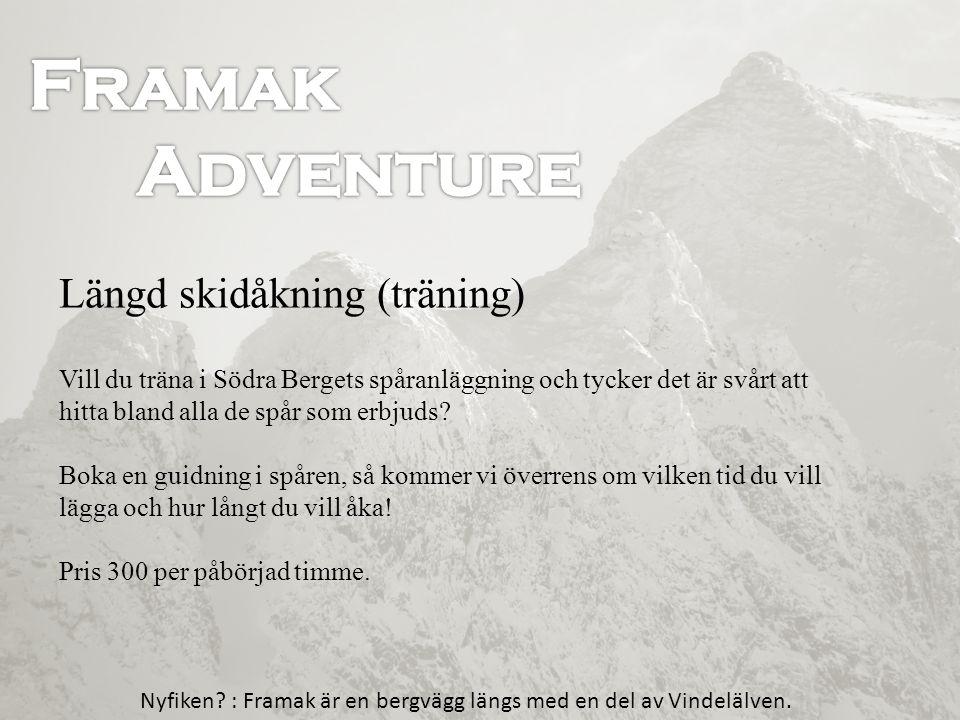Framak Framak Adventure Adventure Längd skidåkning (träning)