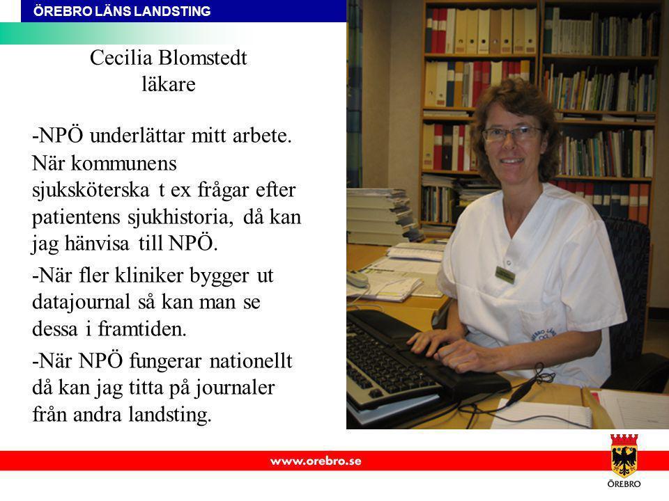 Cecilia Blomstedt läkare