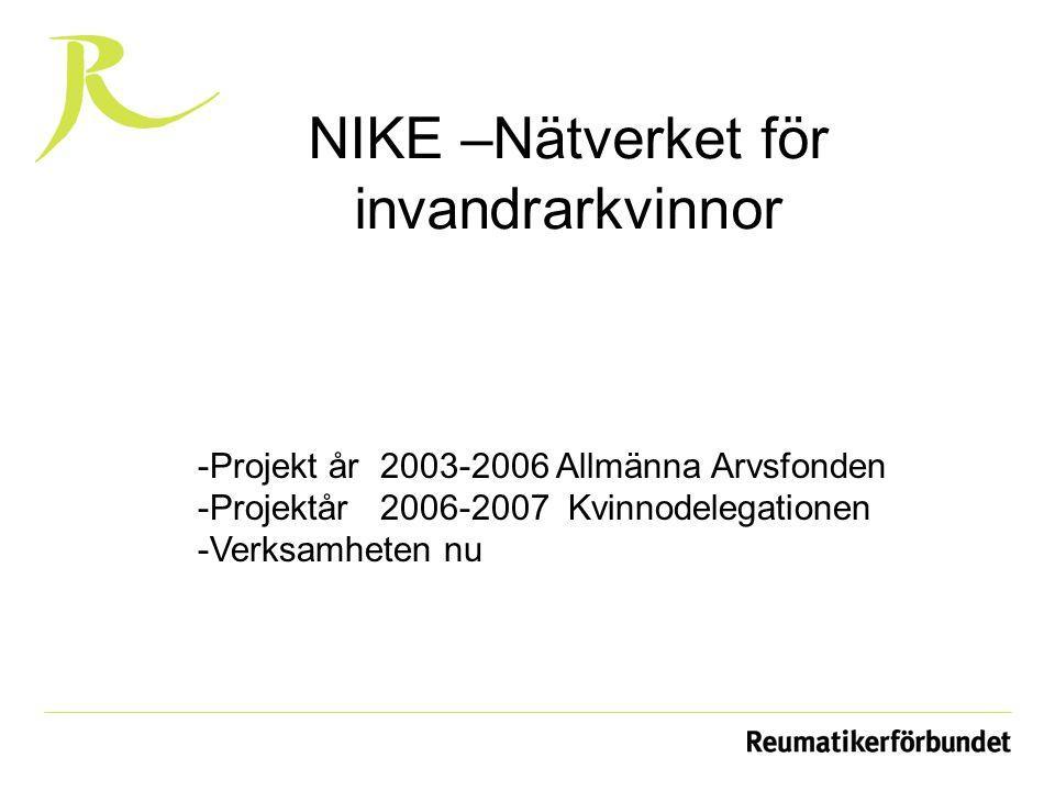 NIKE –Nätverket för invandrarkvinnor