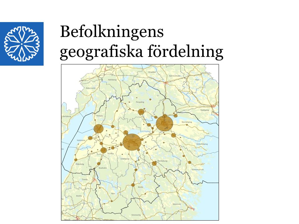 geografiska fördelning