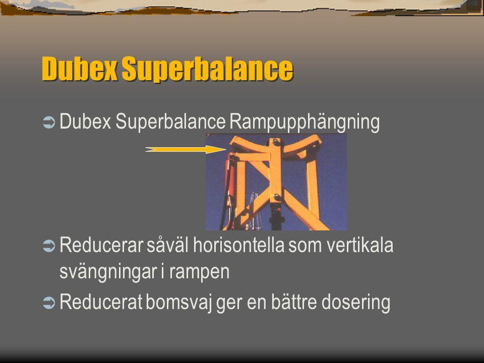 Dubex Superbalance Dubex Superbalance Rampupphängning