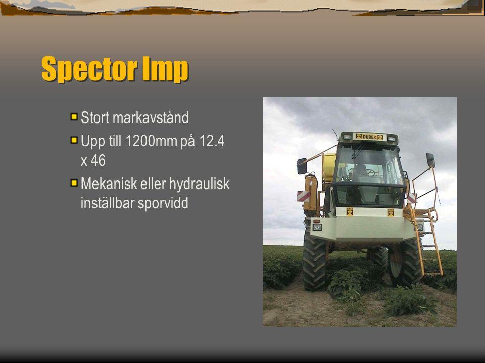 Spector Imp Stort markavstånd Upp till 1200mm på 12.4 x 46
