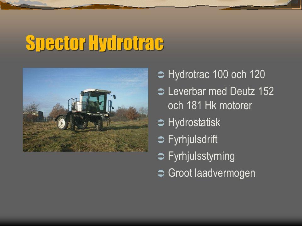 Spector Hydrotrac Hydrotrac 100 och 120