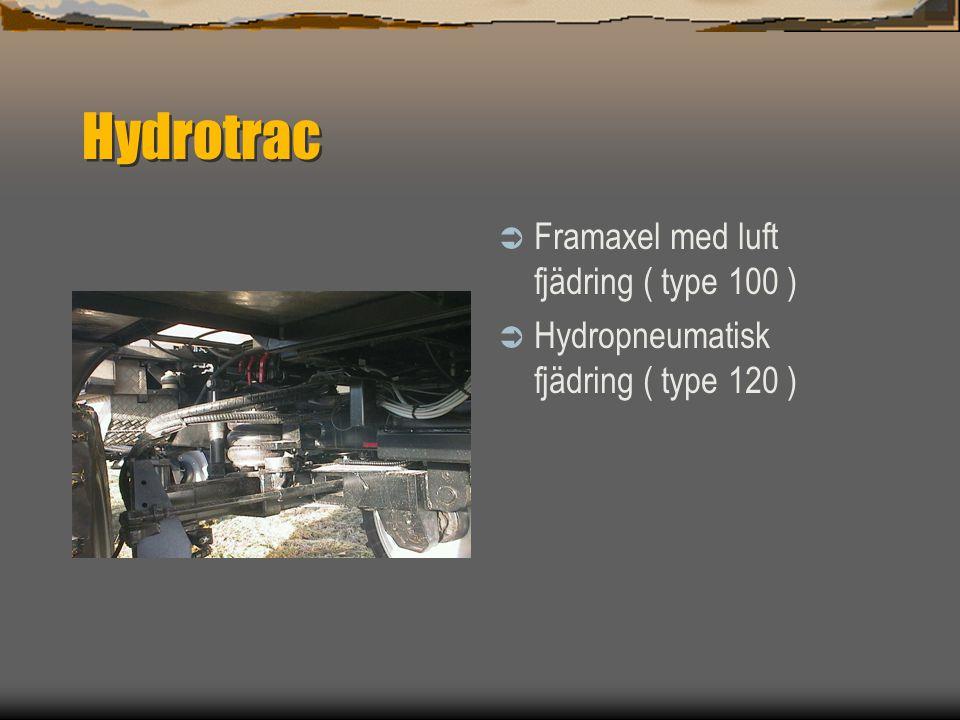 Hydrotrac Framaxel med luft fjädring ( type 100 )