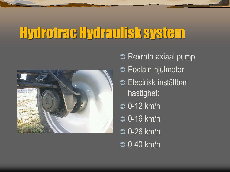 Hydrotrac Hydraulisk system