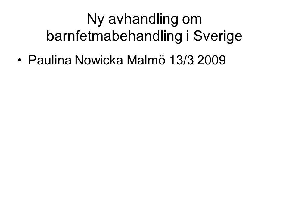 Ny avhandling om barnfetmabehandling i Sverige
