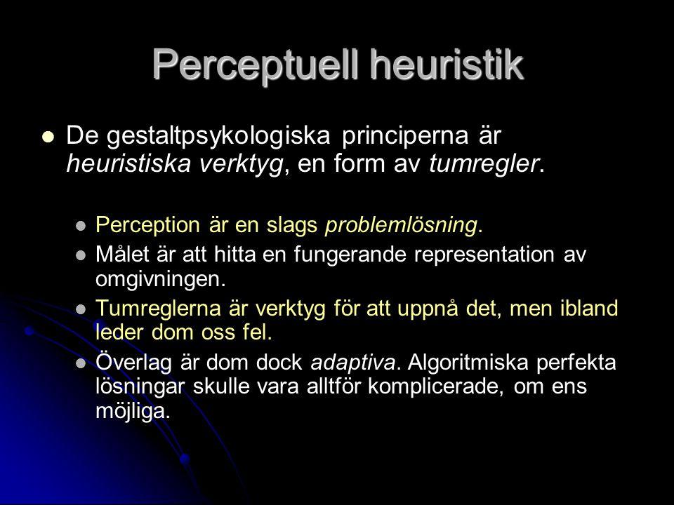 Perceptuell heuristik