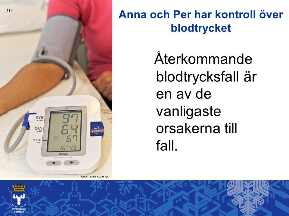 Anna och Per har kontroll över blodtrycket