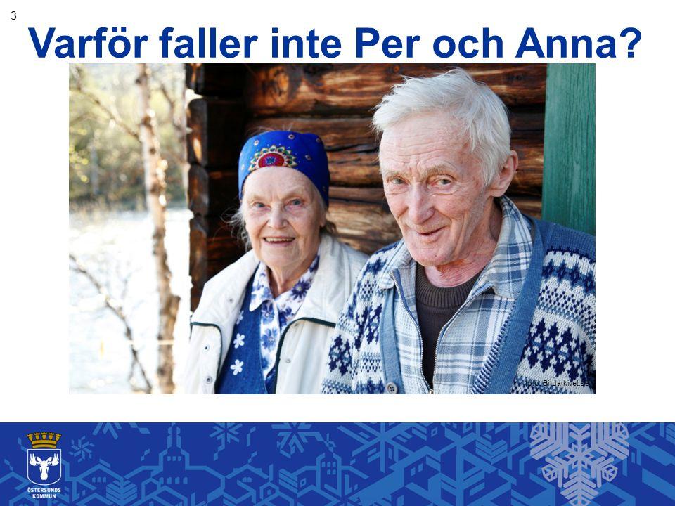 Varför faller inte Per och Anna