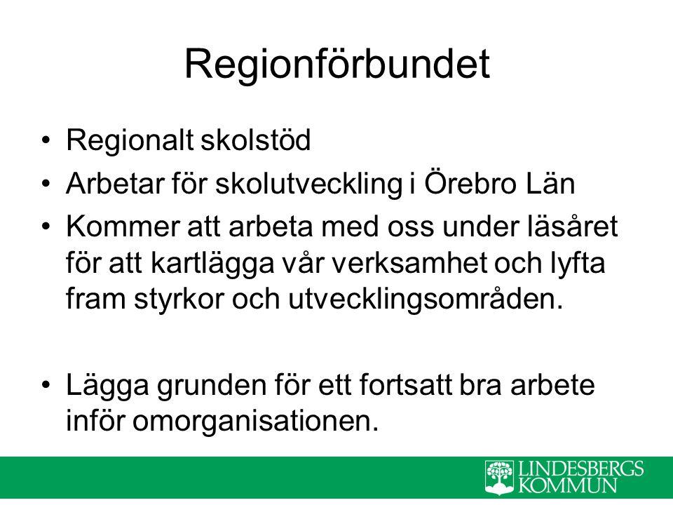 Regionförbundet Regionalt skolstöd