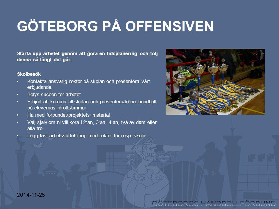 GÖTEBORG PÅ OFFENSIVEN