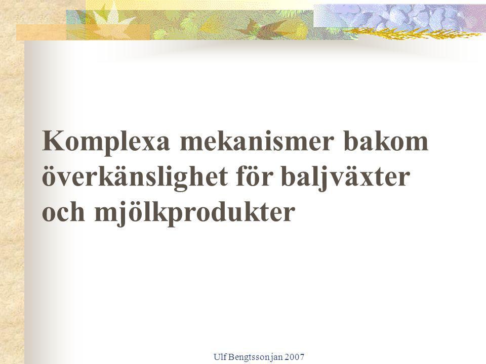 Komplexa mekanismer bakom överkänslighet för baljväxter