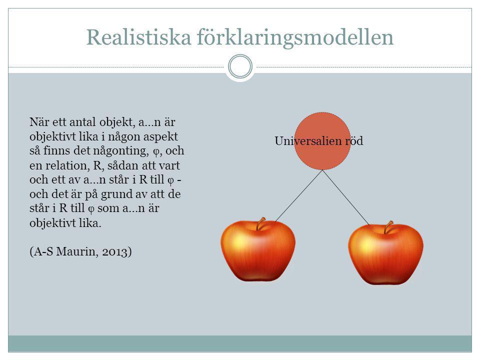 Realistiska förklaringsmodellen