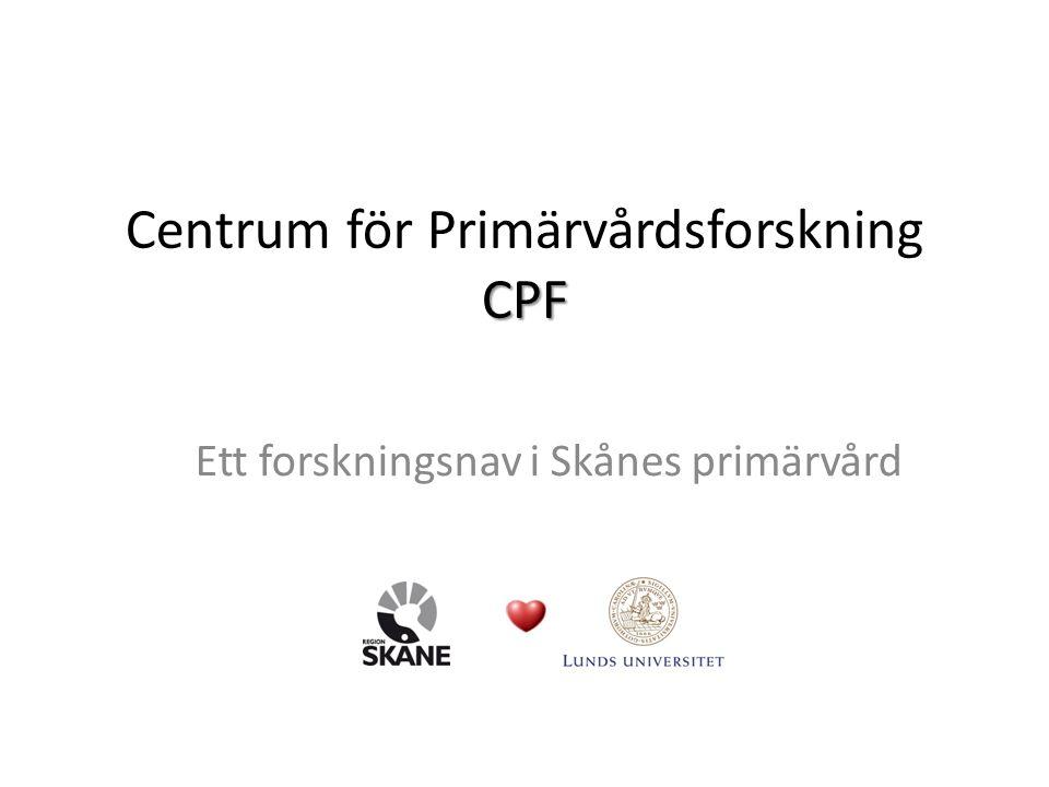 Centrum för Primärvårdsforskning CPF