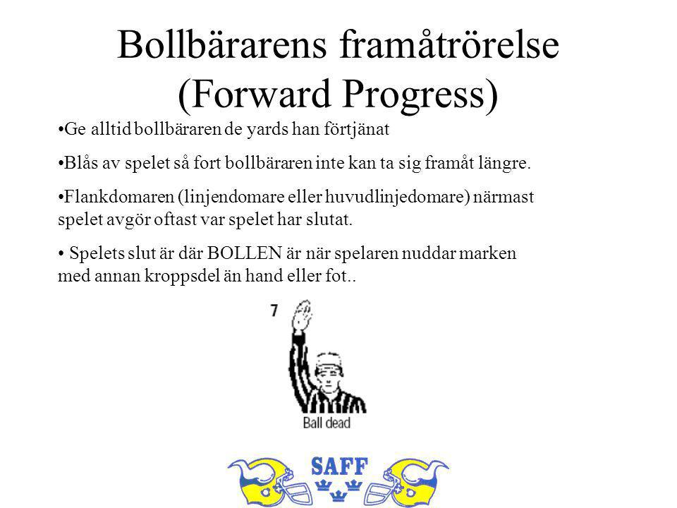 Bollbärarens framåtrörelse (Forward Progress)