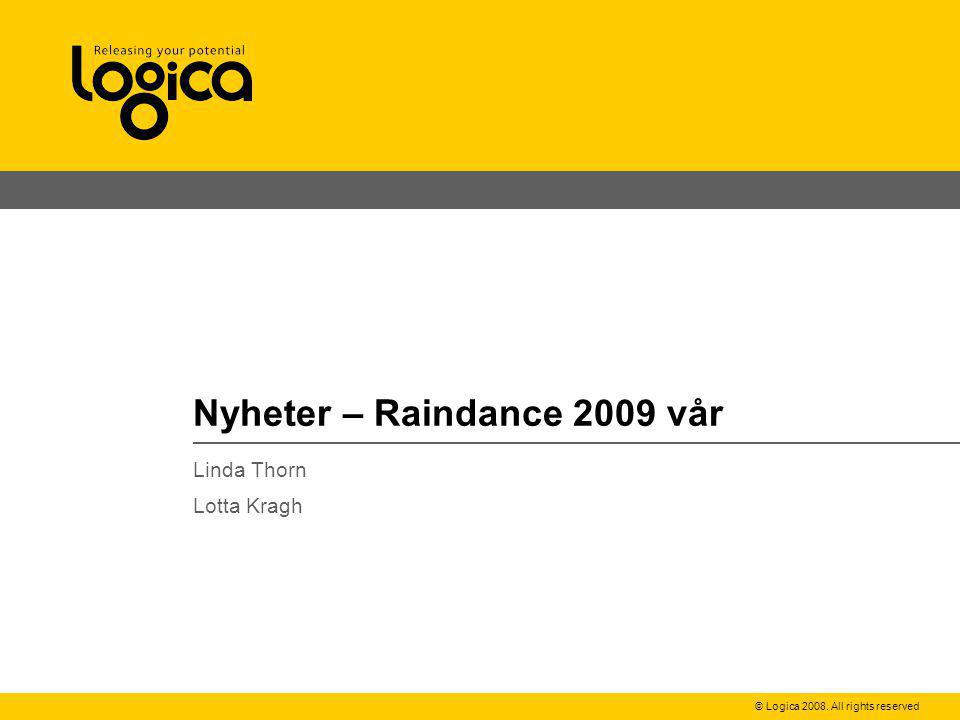 Nyheter – Raindance 2009 vår