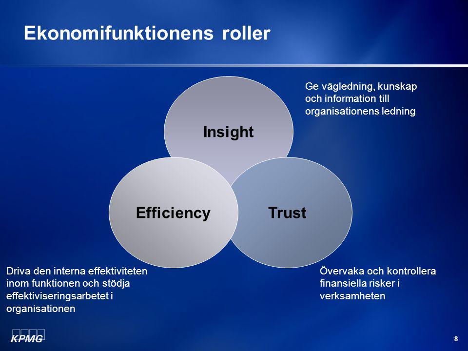 Ekonomifunktionens roller