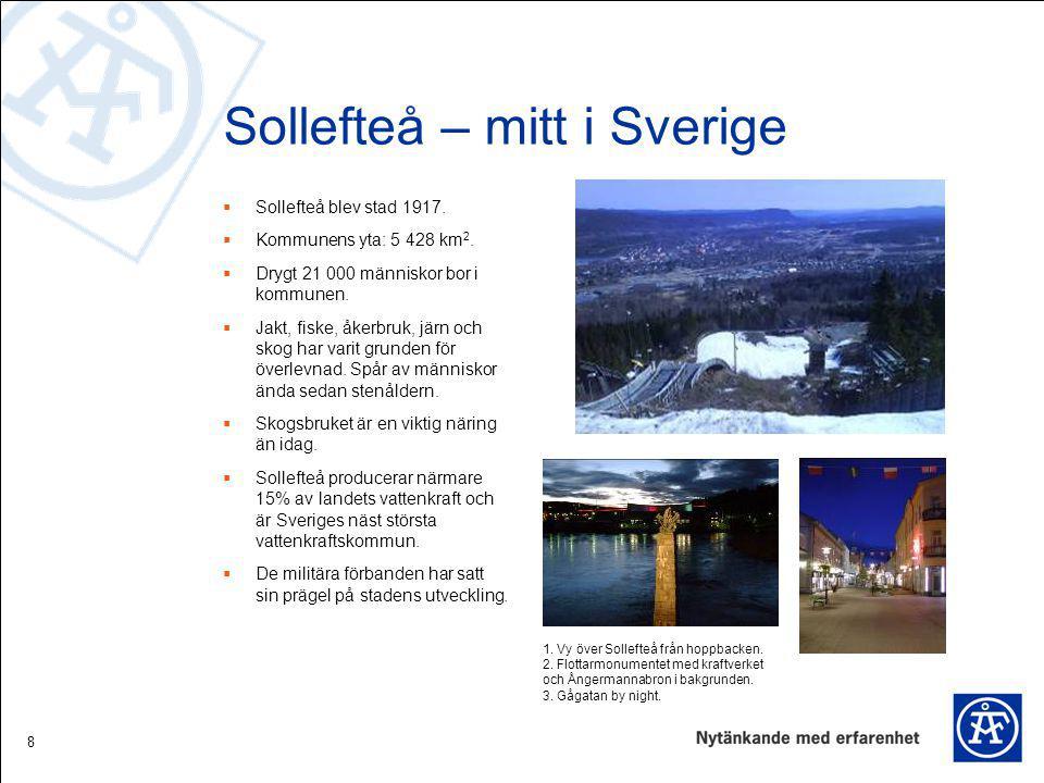 Sollefteå – mitt i Sverige