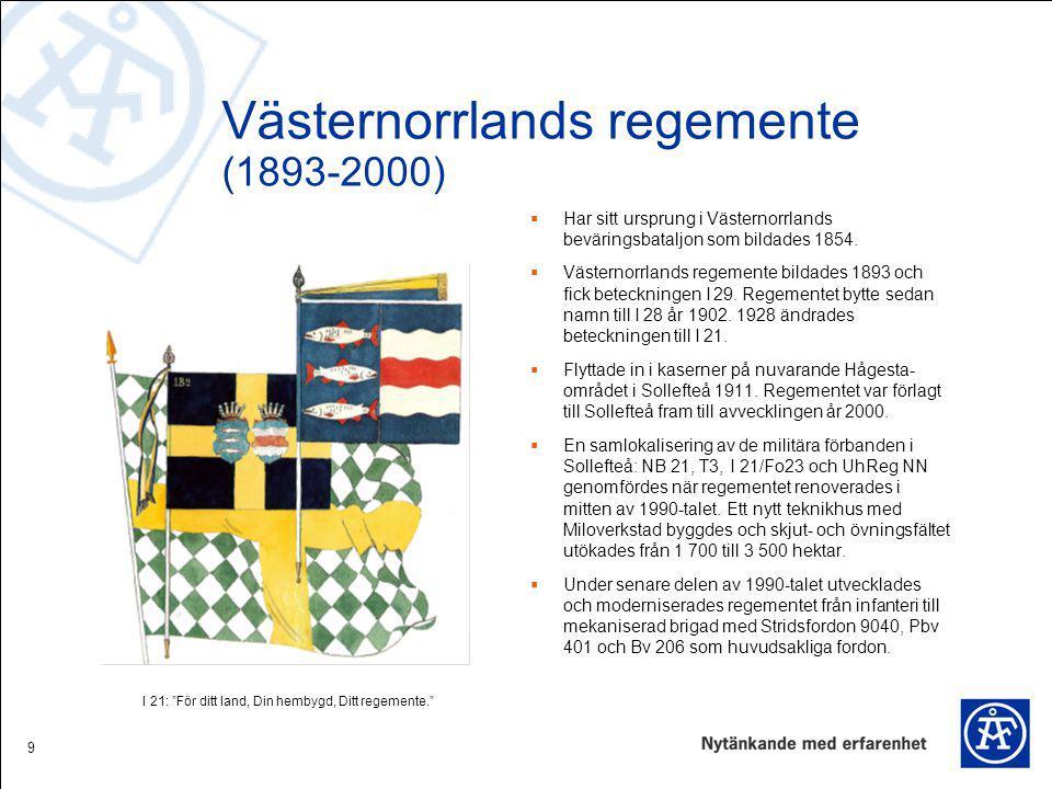 Västernorrlands regemente (1893-2000)
