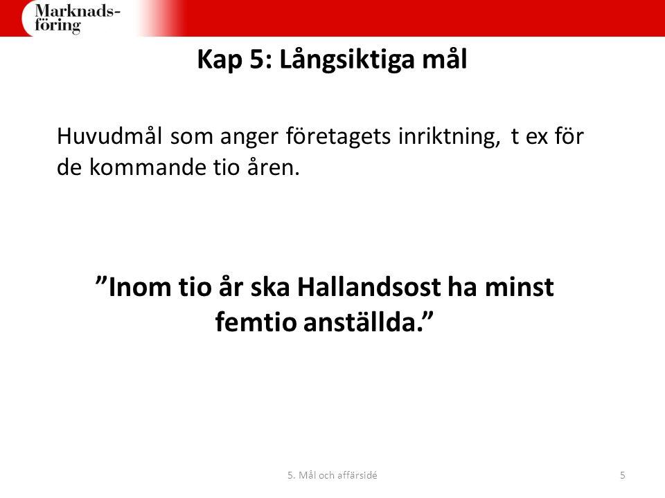 Inom tio år ska Hallandsost ha minst femtio anställda.