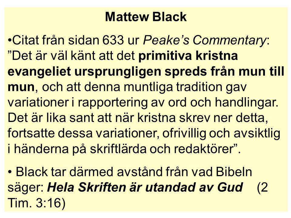 Mattew Black