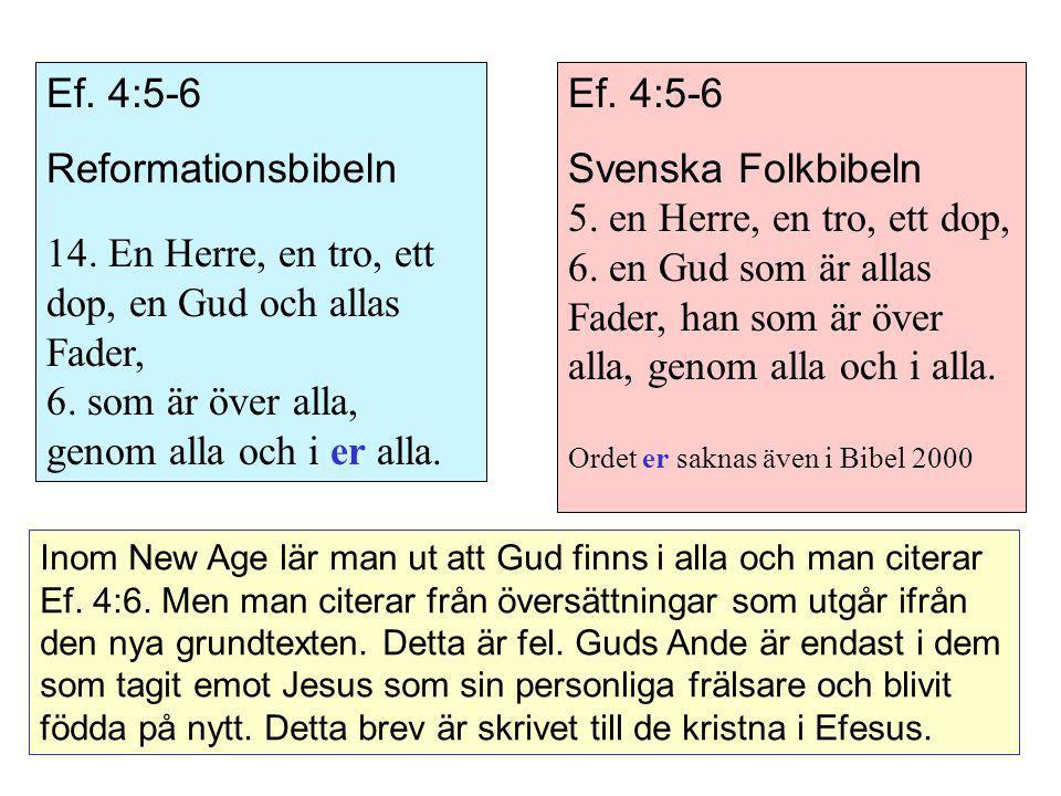 14. En Herre, en tro, ett dop, en Gud och allas Fader,