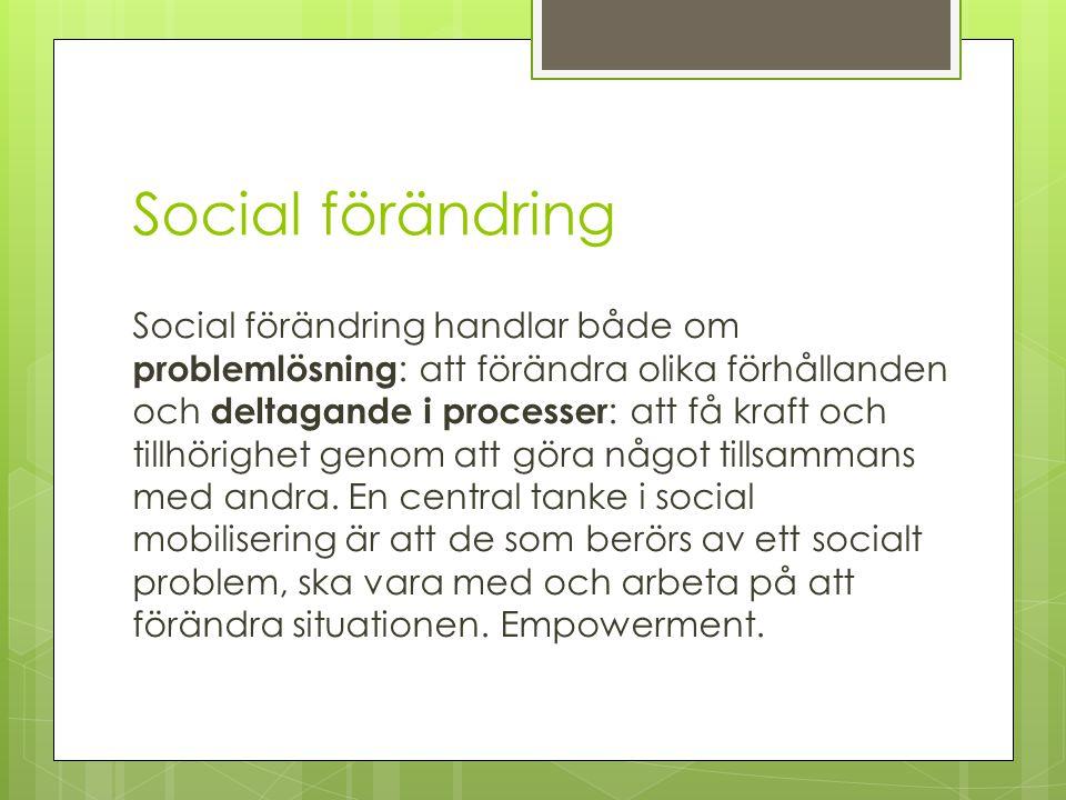 Social förändring