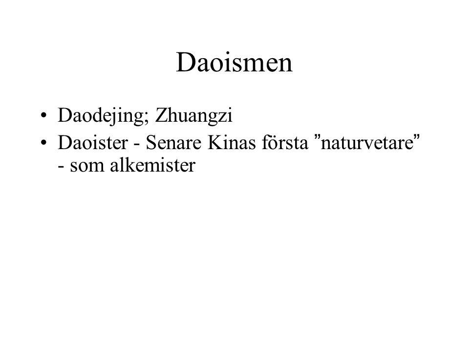 Daoismen Daodejing; Zhuangzi