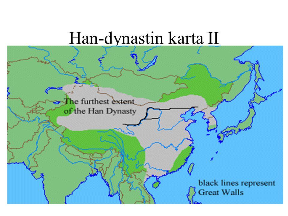 Han-dynastin karta II