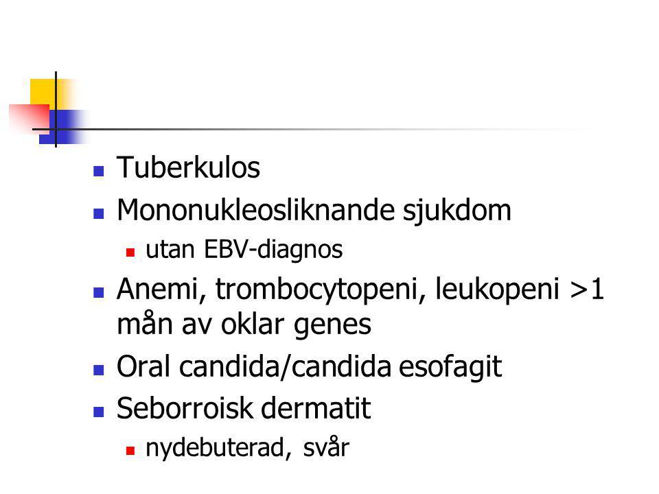 Mononukleosliknande sjukdom