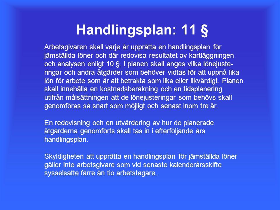 Handlingsplan: 11 §