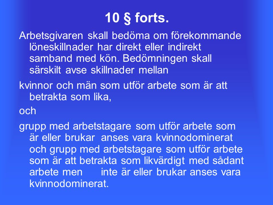 10 § forts.