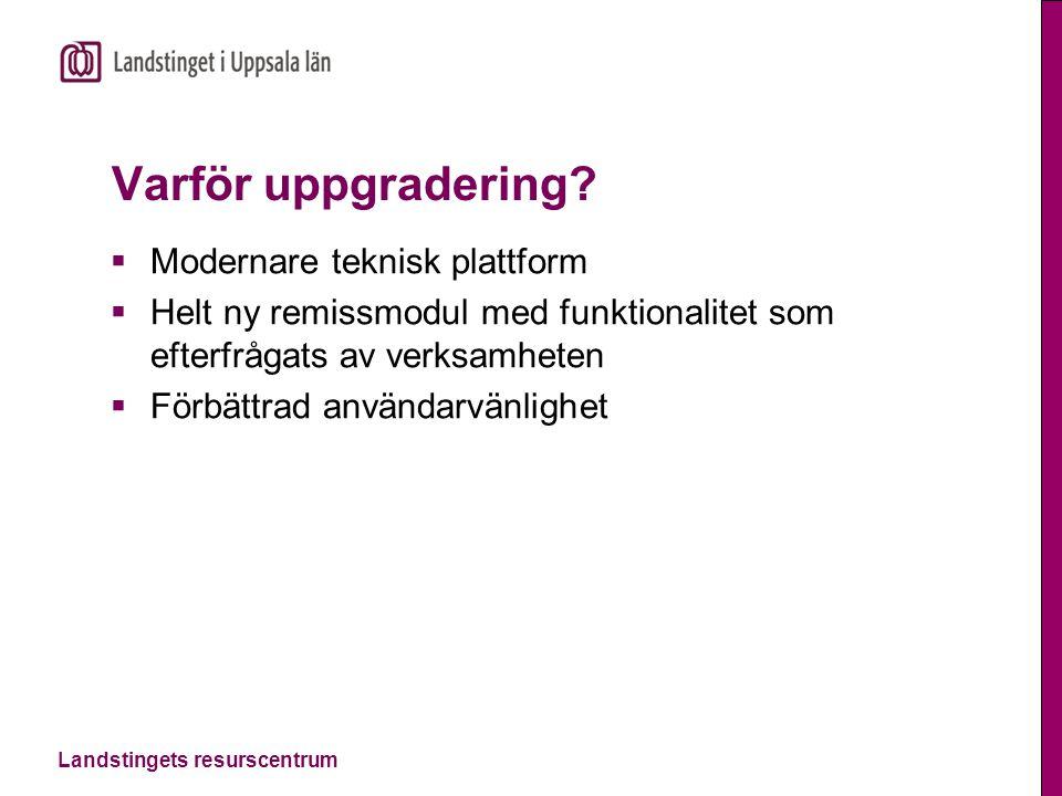 Varför uppgradering Modernare teknisk plattform