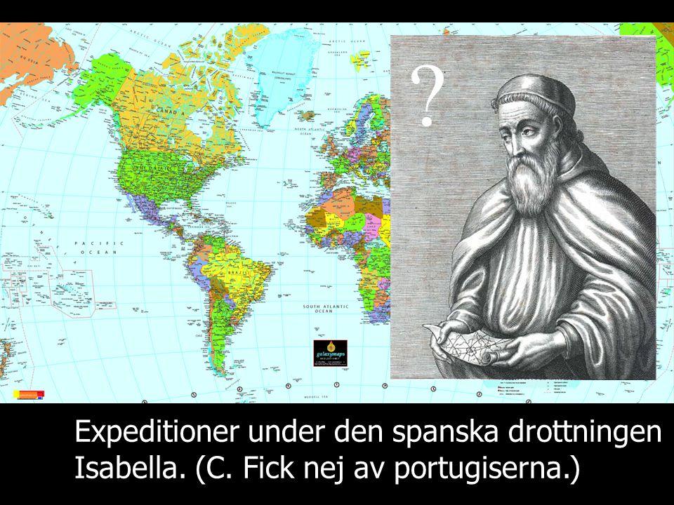 Expeditioner under den spanska drottningen