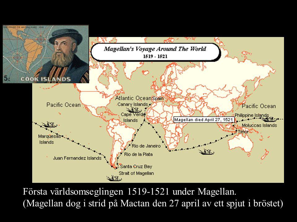 Första världsomseglingen 1519-1521 under Magellan