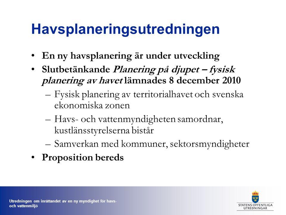 Havsplaneringsutredningen
