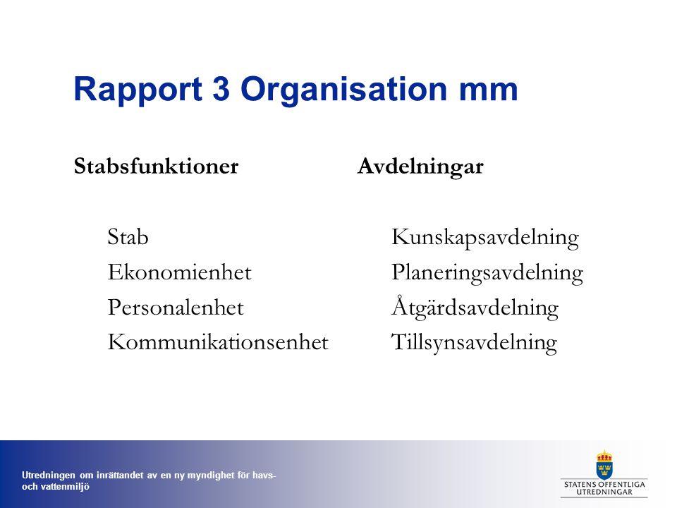 Rapport 3 Organisation mm