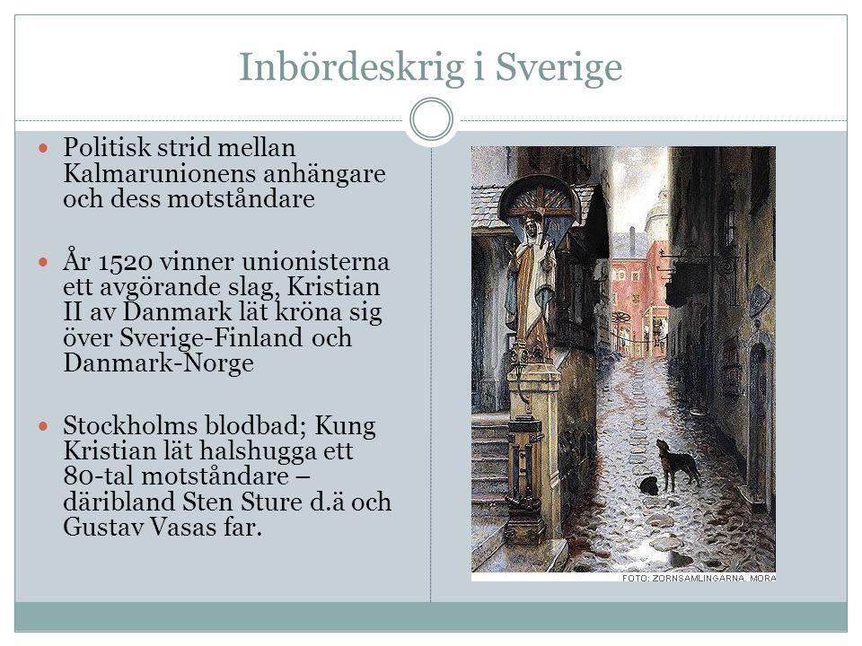 Inbördeskrig i Sverige